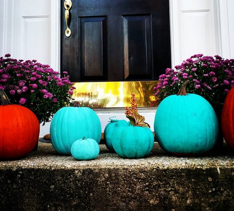 What's The Deal With The Teal Pumpkins This Halloween
