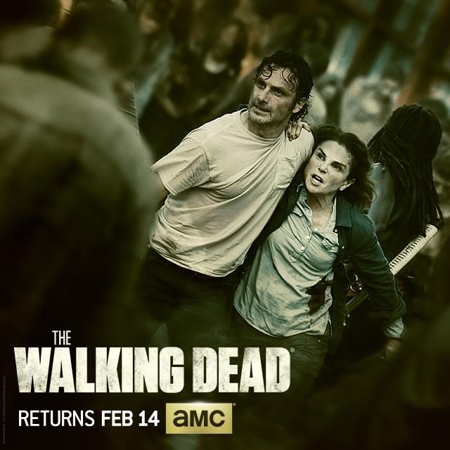 End Your Valentine's Day With The Walking Dead – Returning this Sunday Night!