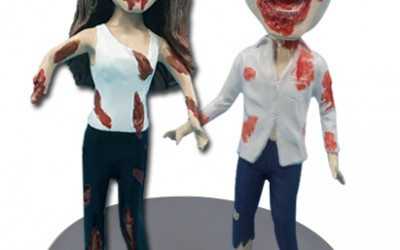 Turn Yourself into the Undead with Your Very Own Customized Zombie Bobblehead from Allbobbleheads.com!