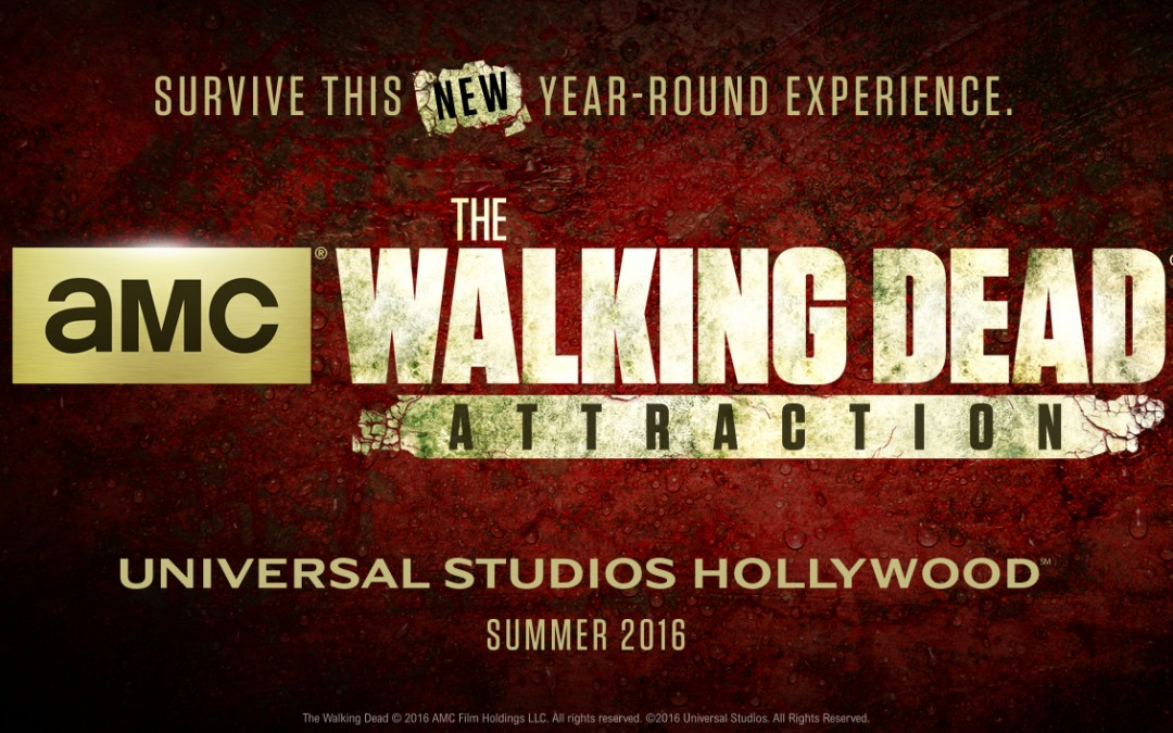 The Walking Dead Attraction Coming to Universal Studios this Summer