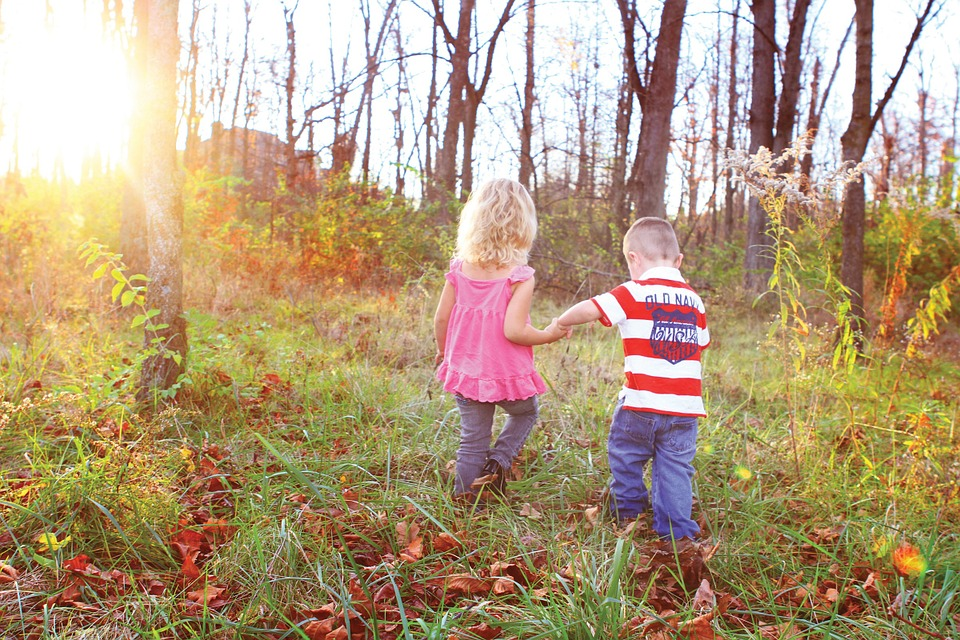 Photo by Mcconnmama, via Pixabay | https://pixabay.com/en/boy-girl-holding-hands-happy-young-358300/
