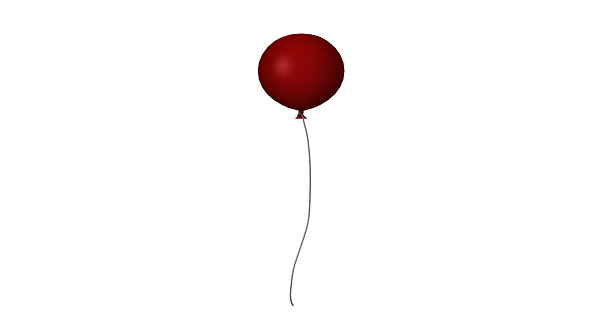 Creepy Red Balloon Spotted in the Window of Stephen King's Home