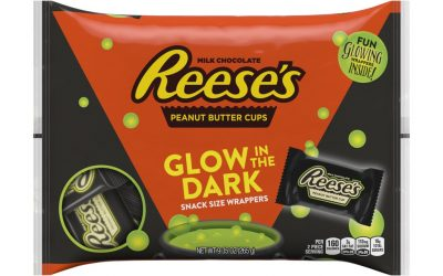 This Year's Halloween Treats That'll Have All the Trick-or-Treaters Talking: Glow-in-the-Dark Chocolate