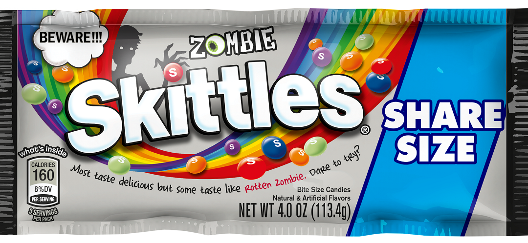 Zombie Skittles to Are Coming to Offer You A Hidden Rotten Zombie Flavor
